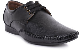 Foot N Style Men's Black Formal Shoes