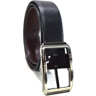 TannedHides Pure Leather Belt Black