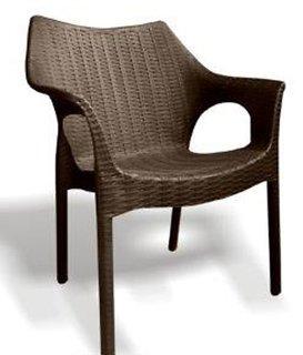 Mavi Cambridge Outdoor Chair (Set of 4)-Brown