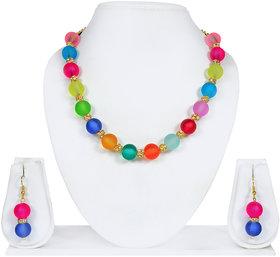 Luxor Multicolor Necklace Set