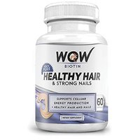 Wow Biotin Healthy Hair  Strong Nails, 60 Capsules