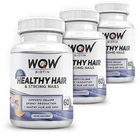 Wow Biotin Healthy Hair & Strong Nails (Pack Of 3)