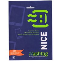 Hashtag One Year AMC for Mobile Phones / Tablets - Screen Damage, Battery Damage