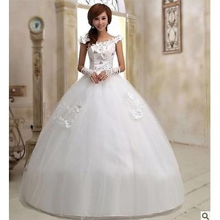 Charming Sweetheart Barbie Crystal Wedding Dress Xs