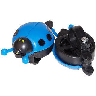 Ladybug Bicycle Bell Ringer - Blue