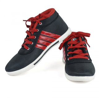 Oricum Footwear Black-122 Men/Boys Casual Shoes