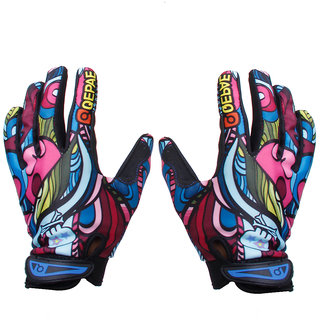 Bicycle Full Finger Warm Bike Sports Gloves XL
