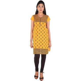 Meenaram Fashions Womens Cotton Straight Kurti