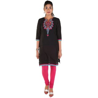 Meenaram Fashions Womens Cotton Straight Kurti