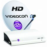 Videocon D2h HD STB With 12 Months Subscription Of South Platinum HD Pack