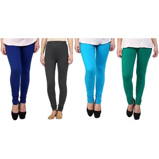 Stylobby Woolen Leggings Pack Of 4BlGrSbG
