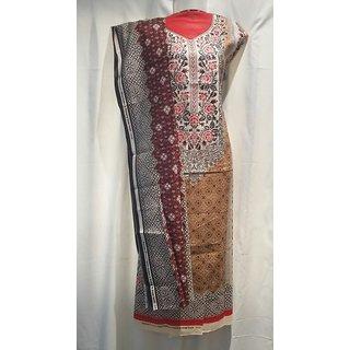 Ladies partywear dress material suit