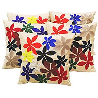 Beautiful Set Of 5 Cushion Covers