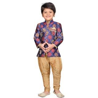 afb9c9d8ae5c Buy AJ Dezines Boys Indo Western Sherwani Suit for Kids Online - Get ...
