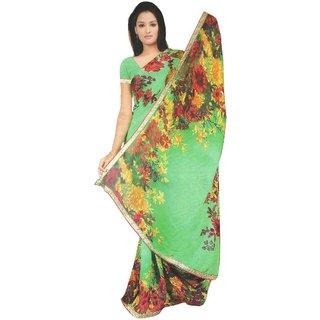 Vashishtha Lifestyle  Multicolor Printed Sare