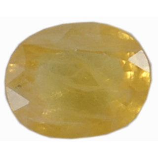 Lab. Certified 3.82 Ct 1 Pcs Natural Bangkok Yellow Sapphire Loose Beautiful Gem