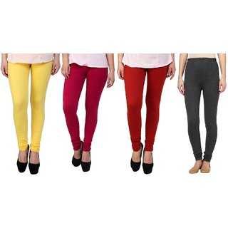 Stylobby Woolen Leggings Pack Of 4 YPMGr