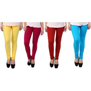 Stylobby Woolen Leggings Pack Of 4 YPMSb