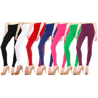 Pack of 7 - Black/White/Red/Blue/Magenta/Green/Purple