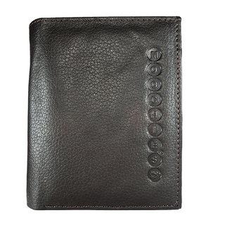 Moochies Genuine Leather Gents Wallet Brown (emzmocgw102br)