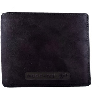 Moochies Genuine Leather Gents Wallet Black (emzmocgw104bl)