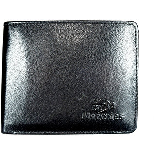Moochies Genuine Leather Gents Wallet Black (emzmocgw14bl)