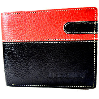 Moochies Genuine Leather Gents Wallet Black emzmocgw1bl