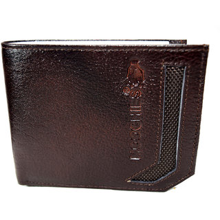 Moochies Genuine Leather Gents Wallet Brown (emzmocgw4br)