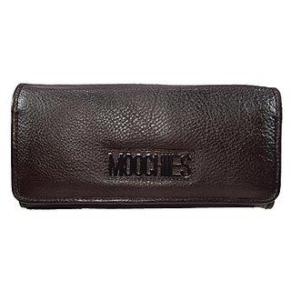 Moochies Ladies Wallet Clutches Black (emzmocwwA07brown)