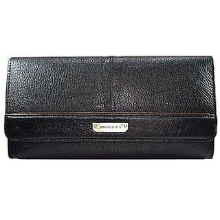Moochies Ladies Wallet Clutches Black (emzmocwwA08black)