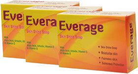 Everage Skin Shine Soap 75gm Pack of 3
