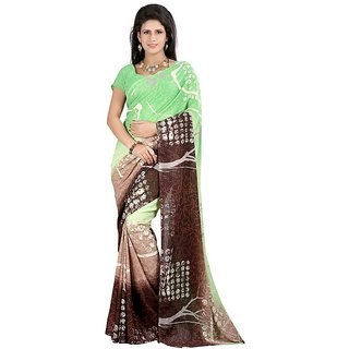 1st Home Multicolor Georgette Saree