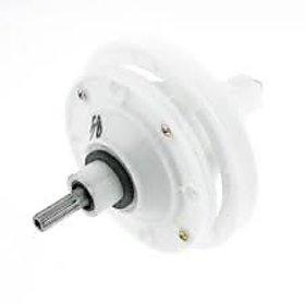 Washing Machine Part 148mm Dia 11 Teeth Speed Gear Reducer Off White