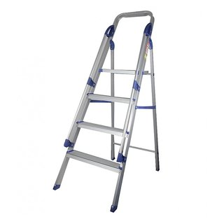 Four Steps Aluminium Ladder