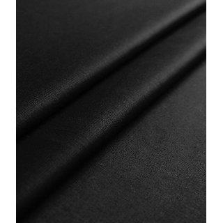 Linen Club Black linen Unstitched Shirt piece