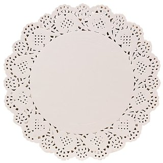 Ezee Doily Paper 5.5 Inches for Kitchen, Craft  Gift (500 Doily Paper)