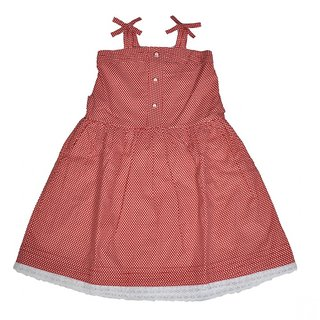 Red Roses Great Look Avril Red Frock 45 CM