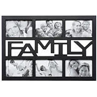 Keep Your Sweet Memories Alive With 6 In 1 Family Photo Collage Frame.