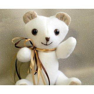 Tiny Handmade White Teddy Bear R