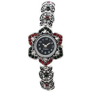 Bracelet diamond wrist watch for gift-E