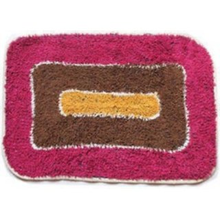 Attractivehomes cotton medium door mat