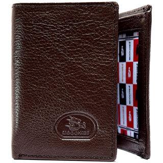 Moochies Genuine Leather Gents Wallet Brown