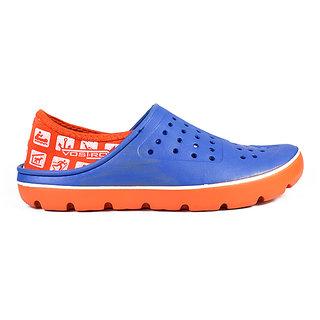 06d841078f Buy Vostro Men Crocs Bob Blue Orange VES0003 Online   ₹499 from ...