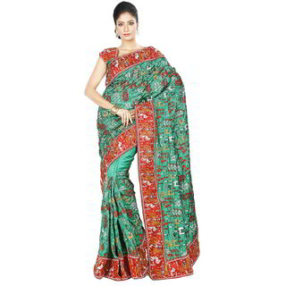 Da Facioun Bridal Women Ethnic Saree Wedding Formal Party Indian