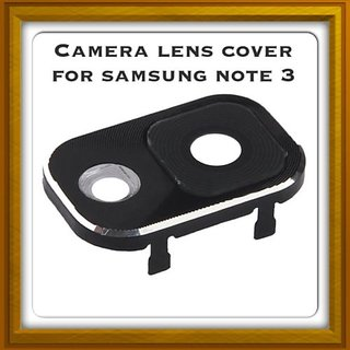 New Camera Lens Glass Cover - For Samsung Galaxy Note 3 - Black