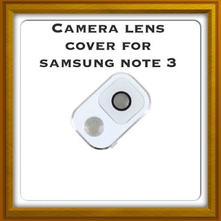 New Camera Lens Glass Cover - For Samsung Galaxy Note 3 - White