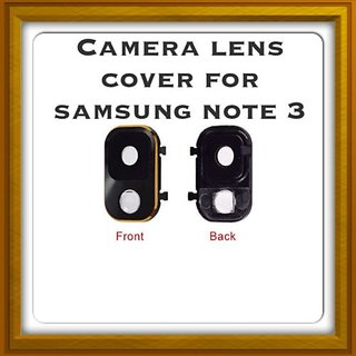 New Camera Lens Glass Cover - For Samsung Galaxy Note 3 - Black Gold