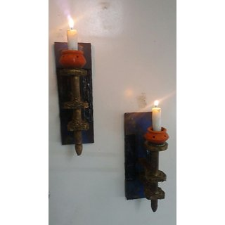 Wall Mounting Candle Holder - Mashaal-             Set of 2