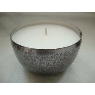 Stainless Steel T light holder w/ perfumed wax