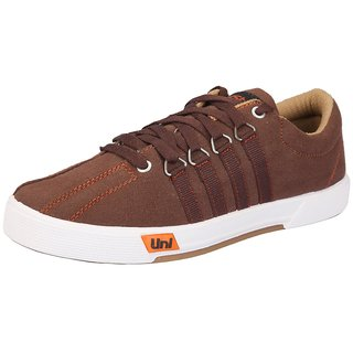 Unistar Casual Canvas Shoes Shoes; 5001-Brn-9